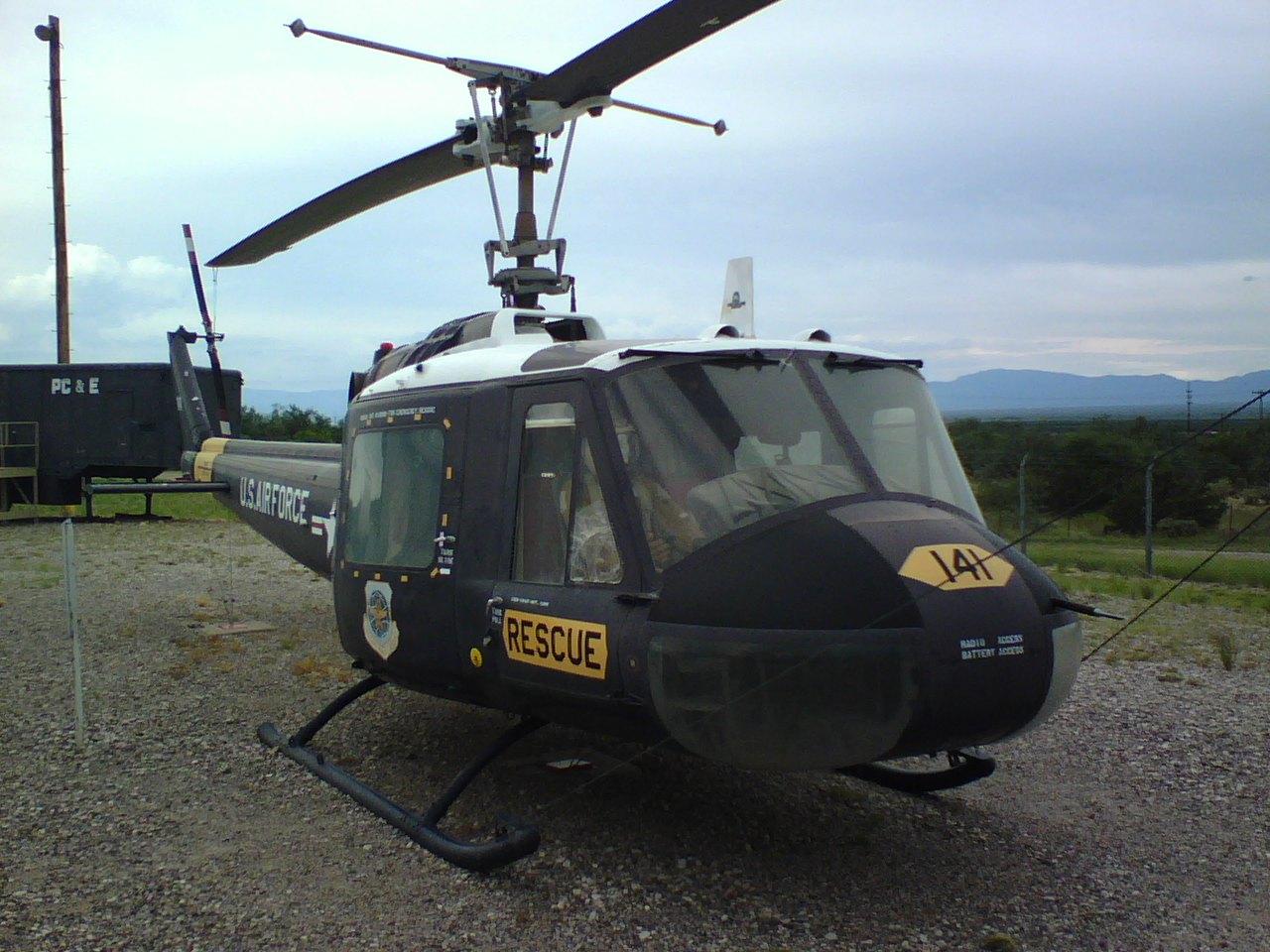 UH-1 Huey - UH-1 Huey at the Titan Missile Museum.