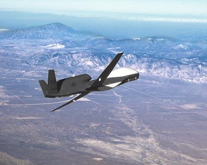 Global Hawk - Global Hawk in flight.