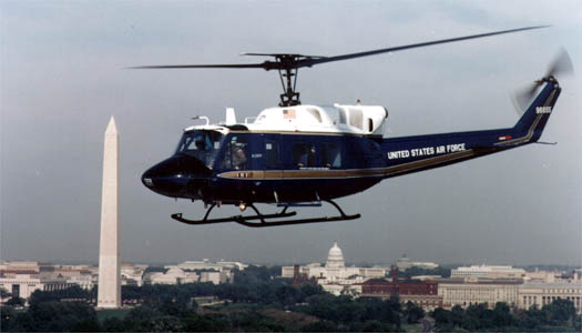 UH-1N Huey - UH-1N Huey flying in Washington, D.C.
