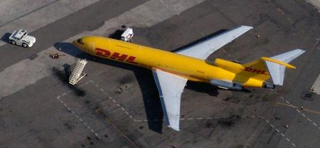 Boeing 727-200F - Boeing 727-200F DHL Freighter