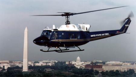 UH-1N Huey - UH-1N Huey flying in Washington, D.C.