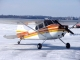 Cessna 170A - Cessna 170A on an ice runway