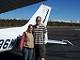 Cessna 172 Skyhawk - My wife and I in Payson, AZ.